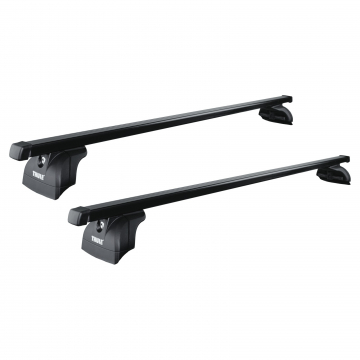 Thule Dachträger SquareBar für VW Caddy III / Life 03.2004 - 04.2015 Stahl