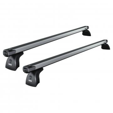 Thule Dachträger SlideBar für Opel Vivaro 06.2014 - jetzt Aluminium
