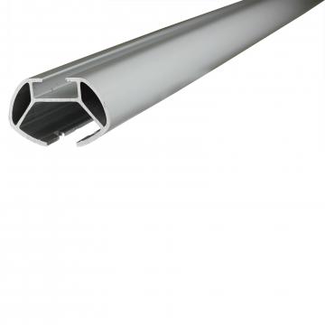 Menabo Dachträger Tema für Peugeot 206+ Fliessheck 2009 - jetzt Aluminium