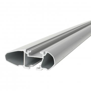 Thule Dachträger WingBar für VW Polo Fliessheck 04.2014 - jetzt Aluminium