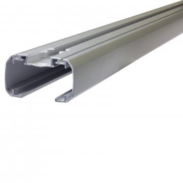Thule Dachträger SlideBar für Nissan Pixo 03.2009 - jetzt Aluminium