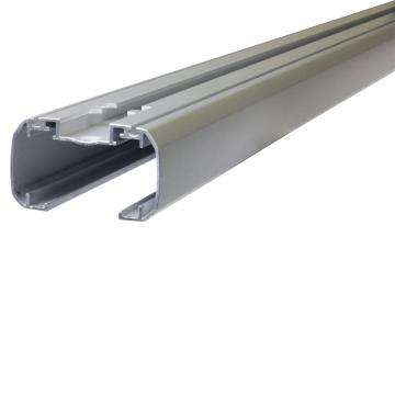 Thule Dachträger SlideBar für Seat Ibiza Fliessheck 06.2015 - 04.2017 Aluminium