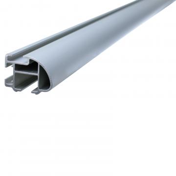 Thule Dachträger ProBar für Honda Civic Fliessheck 01.2012 - 01.2015 Aluminium