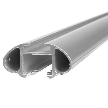 Thule Dachträger SmartRack für VW Touran 02.2003 - 06.2015 Aluminium