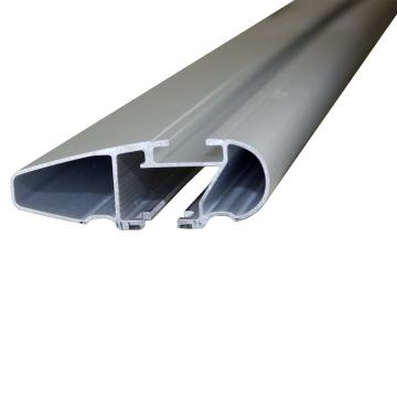 Thule Dachträger WingBar Edge für Hyundai I20 10.2014 - jetzt Aluminium