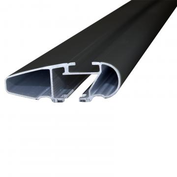 Thule Dachträger WingBar für Peugeot 206+ Fliessheck 2009 - jetzt Aluminium