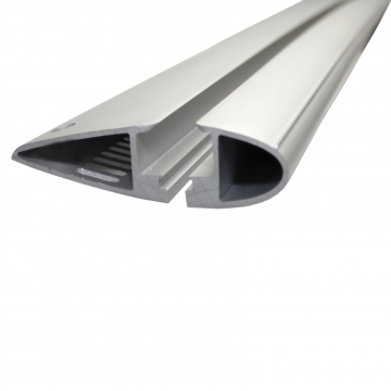 Yakima Dachträger Flush für Peugeot 208 Fliessheck 03.2012 - jetzt Aluminium