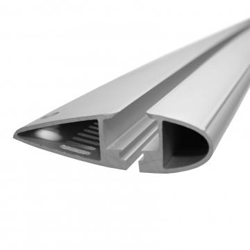 Yakima Dachträger Flush für Kia Rio Stufenheck 03.2005 - 09.2009 Aluminium