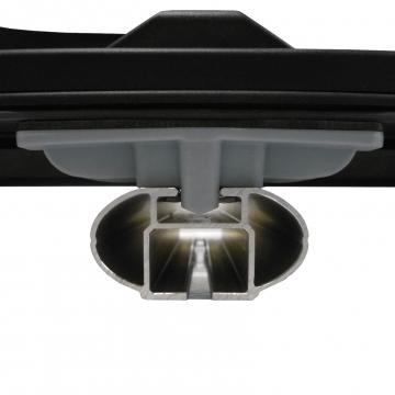 Kamei Dachbox Oyster 450 grau silber