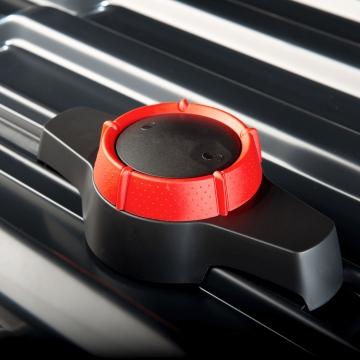 Hapro Dachbox Traxer 6.6 grau silber