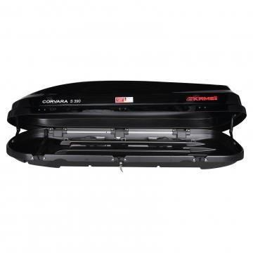 Kamei Dachbox Corvara S 390 schwarz glänzend