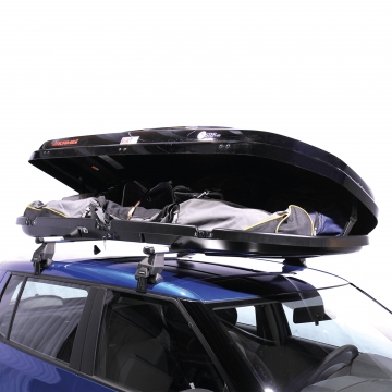 Kamei Dachbox Oyster 450 schwarz glänzend