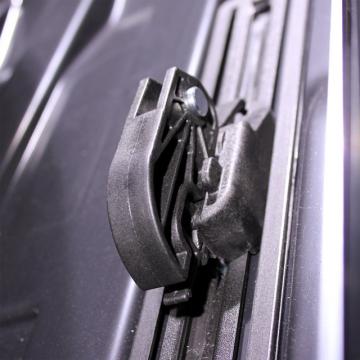 Junior Dachbox Altro 460 schwarz glänzend