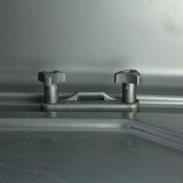 Junior Dachbox PRE 460 grau glänzend